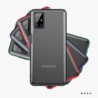 SAMSUNG M51 CRYSTAL HARD CASE SMOKE AKRILIK FROSTED