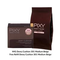 PIXY Promo Pack Dewy Cushion Free Refil Medium Beige 301 thumbnail