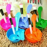 Mangkok Masker Set 4 in 1 Kosmetik thumbnail