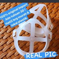 penyangga masker 3d bracket silikon wajah thumbnail