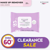 Byphasse Make-Up Remover Wipes Witch Hazel 25U. thumbnail