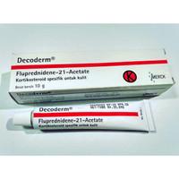 Decoderm Cream 10 GR - Krim untuk Eksim, Gigitan Serangga, Alergi