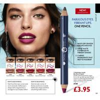 OnColour Lip & Eye Duo Crayon - Berry & Grey thumbnail