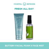 Bundle Mineral Botanica Buttery Facial Foam X Face Mist thumbnail