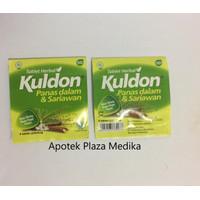 Kuldon Tablet - Sariawan, Panas Dalam, Tenggorokan Kering, Bau Mulut