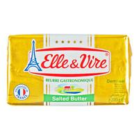 Elle & Vire Demi sel /salted butter 200 gr