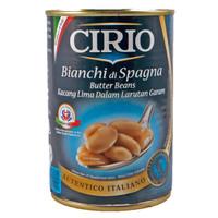 Cirio Bianchi di Spagna butter beans 400 gr