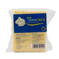 GREEN VALLEY block cheedar cheese 255 gr
