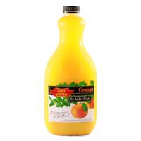 Juice United Orange less sugar 2 L