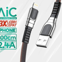 Kabel Data AKL-010 Charger iphone Fast Charging 2.4A