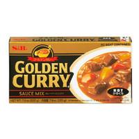 S & B Golden Curry sauce mix 220 gr