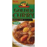 S & B Golden Curry sauce 92 gr