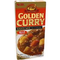 S & B Golden Curry sauce mix 92 gr