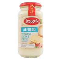 Leggo's Alfredo with fresh cream & cheese 490 gr