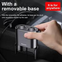Baseus Car Charger Dual USB Cigarette Lighter Port Charger Mobil