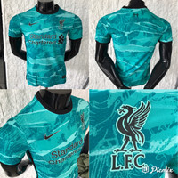 JERSEY BOLA VAPORKNIT PLAYER ISSUE LIVERPOL AWAY 2020/2021 GRADE ORI