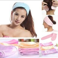 Headband Beauty Towel Bandana Makeup Bando Facial bahan handuk thumbnail
