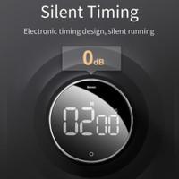 Baseus Magnetic Digital Timers Heyo Rotation Countdown Timer Kitchen