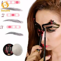 beauty eyebrow stencil cetak alis premium thumbnail