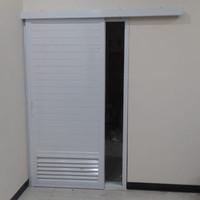 Jual Pintu Kamar Mandi White/Pintu Kamar Mandi Sliding - Kota Bekasi - Bintang Kreasi Aluminium   Tokopedia