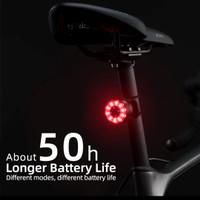 ROCKBROS Q1 Bike Tail Light Rechargeable Lampu Sepeda Lipat Roadbike