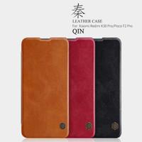 Flipcase flipcover nillkin Qin leather case Xiaomi K30 pro Poco f2 pro
