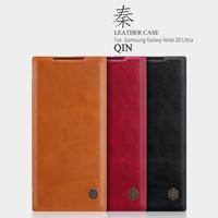 Flipcase nillkin Qin leather case Samsung Galaxy Note 20 ultra