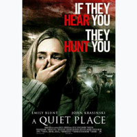 Jual Dvd Film Barat A Quiet Place 2018 Kota Tangerang Selatan Bongkarkoper Tokopedia