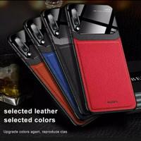 Case Samsung Galaxy A30s Case Leather Hard Soft Casing Kulit