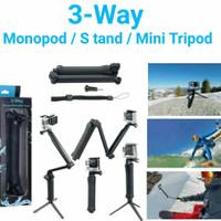 3 in 1 tongsis mini tripod dan monopod multifungsi