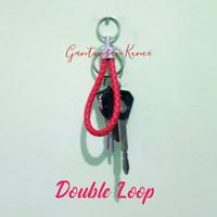 Gantungan Kunci Botega Double Loop Premium Import