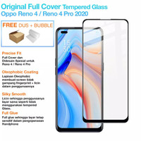 OPPO RENO 4 Tempered Glass 9D Full Screen Anti Gores 9D