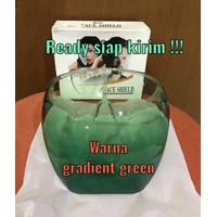 Face shield full face premium acrilic - GRADIENT GREEN thumbnail