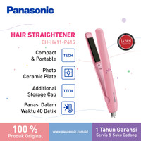 Panasonic Keratin & Coconut Oil Straightener HV11 Catokan Rambut P thumbnail