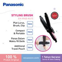 Panasonic Alumite Multi Hair Straightener Styler HV40 Catokan Sisir thumbnail