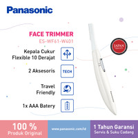 Panasonic Facial Shaver Trimmer WF61 Cukur bulu halus dan alis W thumbnail
