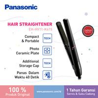 Panasonic Keratin & Coconut Oil Straightener HV11 Catokan Rambut K thumbnail