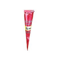 [1PCS] NEHA HENNA PASTE CONE BPOM - MAROON thumbnail