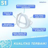 Penyangga Masker Bracket Silikon Breket Anti Pengap thumbnail