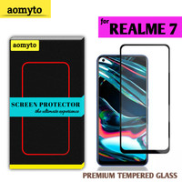 REALME 7 AOMYTO TEMPERED GLASS PREMIUM FULL GLUE
