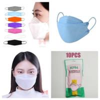 Masker KF94 Masker Korea Masker Medis 4ply Sertifikat Ce BNPB - putih thumbnail