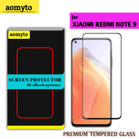 XIAOMI REDMI NOTE 9 AOMYTO TEMPERED GLASS PREMIUM FULL GLUE
