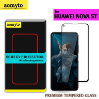 HUAWEI NOVA 5T AOMYTO TEMPERED GLASS PREMIUM FULL GLUE