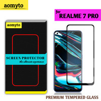 REALME 7 PRO AOMYTO TEMPERED GLASS PREMIUM FULL GLUE