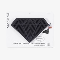 Masami Diamond Brush Cleansing Mat Black thumbnail