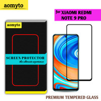 XIAOMI REDMI NOTE 9 PRO AOMYTO TEMPERED GLASS PREMIUM FULL GLUE
