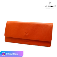 Dompet Panjang Wanita Branded Kulit Asli V83 - P007 Original Leather