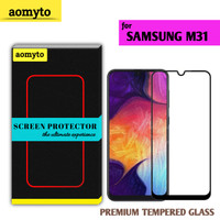 SAMSUNG M31 AOMYTO TEMPERED GLASS PREMIUM FULL GLUE