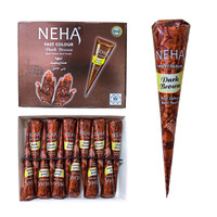 NEHA HENNA PASTE COLOUR BROWN BPOM thumbnail
