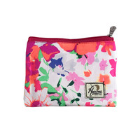 Pouch Harvest Flower Abstract Square - Orange thumbnail